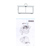Рамка удерживающая пористый фильтр (нового образца)  арт. 198488