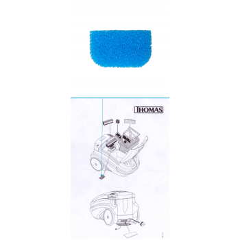 Моторозащитный фильтр для THOMAS TWIN   арт. 195197