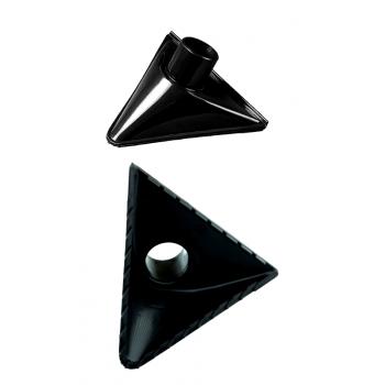 Насадка треугольная для грубого мусора  арт. 139443